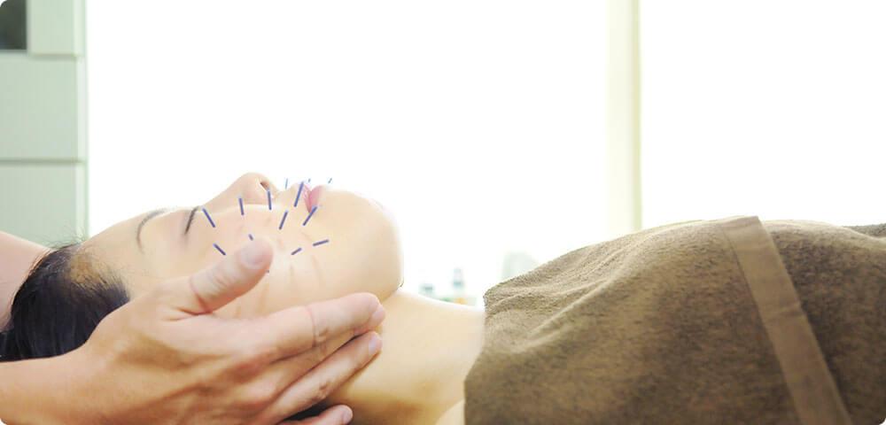 福岡市南区塩原の「山中鍼灸院」の美容鍼イメージ